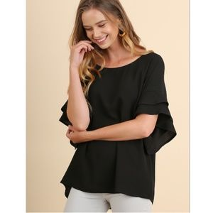 Adelphi Blouse in Black